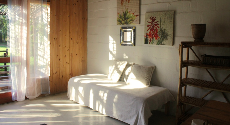 Bodhi Barn Cabin sleeps up to 8.  Enjoy country-style, self-catered accommodation in Knysna with your family and friends under one roof.